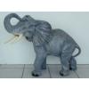 Elefánt-90 cm/szürke
