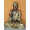 Buddha-thai-meditáló/43 cm/bronz-arany