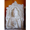 Buddha-thai-fali lámpa/fehér