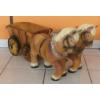 Ló-szekérrel-két lóval-35cm