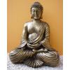 Buddha-thai-meditáló/43 cm/antik arany