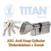 Titan K5 ASC zárbetét 40x45 gombos