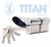 Titan K5 zárbetét 35x55 gombos zár és alkatrészei