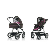 ABC Design detský kočík Viper 4S raspberry dark brown babakocsi