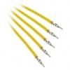 Bitfénix Bitfenix Alchemy 2.0 PSU kábel 5x60cm - sárga