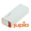 Jupio Power Bank 2600mAh külső akkumulátor, fehér