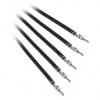 Bitfénix Bitfenix Alchemy 2.0 PSU kábel 5x20cm - fekete
