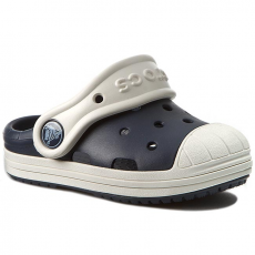 CROCS Papucs CROCS - Crocs Bump It Clog K 202282 Navy/Oyster