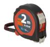 EXTOL PREMIUM 5 EXTOL mérőszalag, gumírozott, 2 stoppos, 2m×16mm mérőszerszám