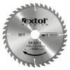 EXTOL PREMIUM EXTOL körfűrészlap, keményfémlapkás, 300×30mm(lyuk átm), T60; 3,2mm lapkaszélesség, max. 5000 ford/perc