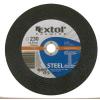 EXTOL PREMIUM EXTOL vágókorong acélhoz, kék; 230×1,9×22,2mm, max 6.600 ford/perc, (darabáras, de csak ötösével rendelhető)
