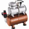 EXTOL PREMIUM_ EXTOL olajmentes légkompresszor, 230V/150W, 6 bar, 23 l/perc, 3l tank, airbrush festéshez is használható