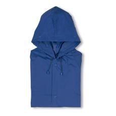 Kapucnis PVC esőkabát,kék (Kapucnis PVC esőkabát)