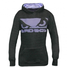 BAD BOY - FLEECE HOODIE LADIES – SÖTÉTSZÜRKE PULÓVER