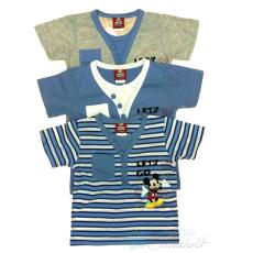 Disney Mickey baba, gyerek csíkos póló (méret:80-128)