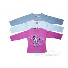 Disney Minnie hosszú ujjú gyerek póló (méret 92-110)