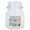 Yankee Candle Fluffy Towels illatos gyertya  411 g Classic közepes méret + minden rendeléshez ajándék.