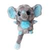 YooHoo Elefánt Szürke Plüss - 12,5 cm