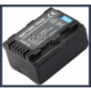 Panasonic SDR-S50 Series 3.7V 1790mAh utángyártott Lithium-Ion kamera/fényképezőgép akku/akkumulátor