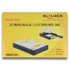 DELOCK 3.5 1 x 2.5 SATA HDD / SSD Mobile Rack