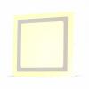 22W LED Felületre szerelhető Panel - Négyzet alakú 6000K 4930