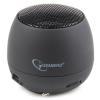 Gembird SPK-103, Audio 3.5mm, 2W, 40mm, 400mAh, 6h fekete hangszóró