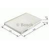 Bosch 1987432296 Pollenszűrő MINI (BMW) II 2006.11-