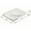 Bosch 1987432037 Pollenszűrő MERCEDES CLASSE A, VANEO