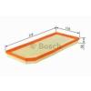 Bosch 1457433065 Levegőszűrő CDI MERCEDES C, CLK, E, G, M, S