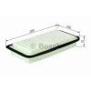 Bosch F026400017 Levegőszűrő TOYOTA AVENSIS, COROLLA, VERSO