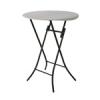 Lifetime asztal kerek bisztró összecsukható d=84 cm