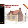 MiniArt FRENCH VILLAGE HOUSE épület dioráma makett Miniart 35510