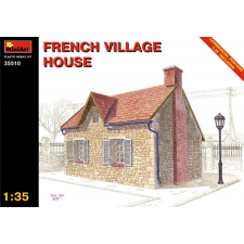 MiniArt FRENCH VILLAGE HOUSE épület dioráma makett Miniart 35510 makett figura