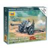 Zvezda German Howitzer leFH-18 löveg makett Zvezda 6121
