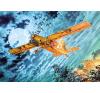 Fairchild Au-23A Peacemaker repülő makett Roden 439 makett figura