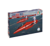 Italeri Hawk T1A Red Arrows 50 display seasons katonai repülő makett Italeri 2747 makett figura