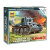 Zvezda German Light Tank PZ.KPFW.38 (T) tank makett Zvezda 6130