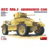 MiniArt AEC Mk 1 Armoured Car katonai jármű makett Miniart 35152