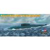 Russian Navy Oscar II class submarine tengeralattjáró makett HobbyBoss 87021