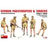 MiniArt German Paratroopers & Tankers (Italy 43) figura makett Miniart 35163