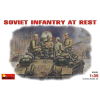 MiniArt SOVIET INFANTRY AT REST (1943-45) figura makett szett Miniart 35001