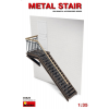 MiniArt METAL STAIR épület dioráma makett Miniart 35525