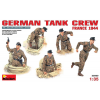 MiniArt GERMAN TANK CREW (FRANCE 1944) figura makett MiniArt 35060