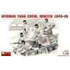 MiniArt GERMAN TANK CREW. WINTER 1943-45 figura makett Miniart 35021