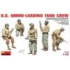 MiniArt U.S.Ammo-Loading Tank Crew figura makett Miniart 36190
