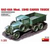 MiniArt GAZ-AAA Mod. 1940 Cargo Truck katonai jármű makett Miniart 35136