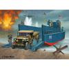 Revell D-Day Set (LCM3 & 4x4 Off Road Vehicle) katonai jármű makett revell 3000