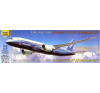 Zvezda Boeing 787-8 polgári repülő makett Zvezda 7008 makett figura