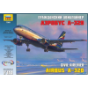 Zvezda Civil airliner Airbus A-320 polgári repülő makett Zvezda 7003