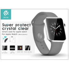 Apple Watch védőtok - Devia Smart Case 38 mm - clear okosóra